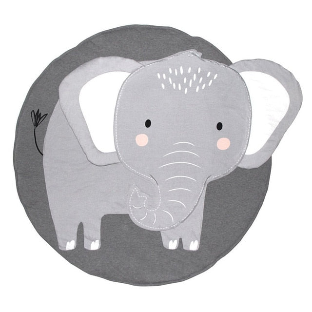 Large Elephant Baby Play Mat - littletingles