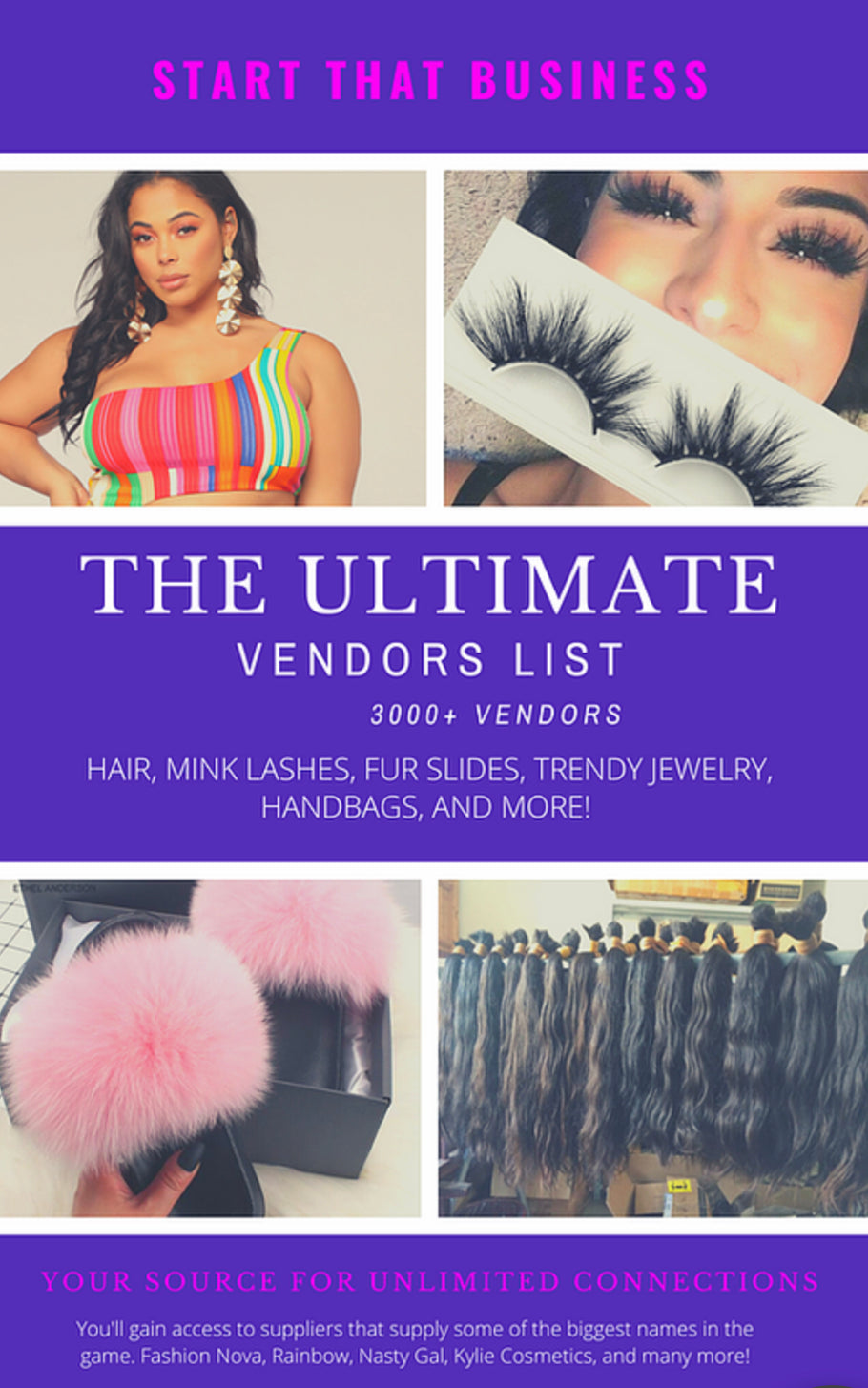 Wholesale Vendors List