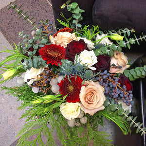 Holiday Hand-Tied Bouquets