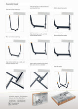 Load image into Gallery viewer, Longshore Tides Abramson Patio Chair Metal Outdoor Club Chairs Gray