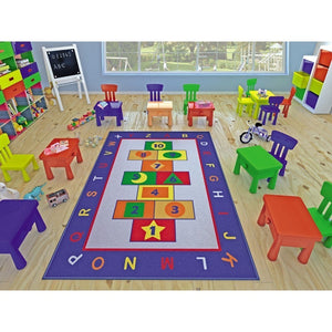 "Rugs for kids Game Theme by Antdecor  4'x 6' 52""x 75"" 133x190 cm - Cross Border Exporter"