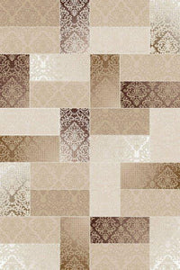 Maxmar Carpet Rexim Brown Decorative Area Rug 5005
