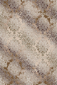 Maxmar Carpet Rexim Brown Decorative Area Rug 5010