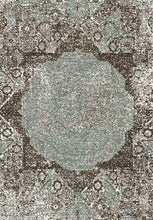 Load image into Gallery viewer, Etgbuy Roman  Green Color Area Rug