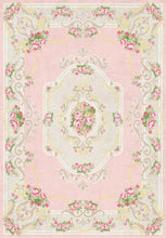 Load image into Gallery viewer, Etgbuy Ethnic Design Oriental Pink Area Rug