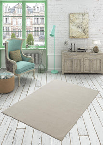 Beige Decorative Carpet ( 80X150 Cm / 32X59 In  / 2X5 Ft And More...)