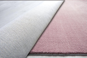 Powder Pink  Decorative Carpet ( 80X150 Cm / 32X59 In