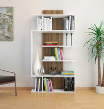 Load image into Gallery viewer, Homelante Joke Bookcase - Decorative Bookcase - White / Istanbul