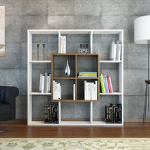 Load image into Gallery viewer, Homelante Leef Bookcase - Decorative Bookcase - White / Istanbul