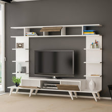 Load image into Gallery viewer, Homelante Pan Tv Unit Retro Pedestal - White / Istanbul