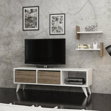 Load image into Gallery viewer, Homelante Foxy Tv Unit - Tv Table - White / Istanbul