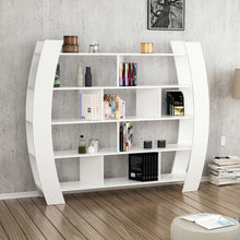 Load image into Gallery viewer, Homelante Teeth Modern Bookcase Decorative Bookcase White