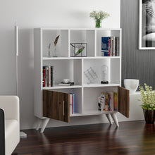 Load image into Gallery viewer, Homelante Ducky Bookcase - Bookcase with Drawers - White / Topkapı