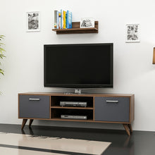 Load image into Gallery viewer, Homelante Horus Tv Unit - Tv Table - Topkapı / Anthracite