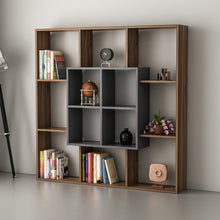 Load image into Gallery viewer, Homelante Leef Bookcase - Decorative Bookcase - Topkapi / Anthracite