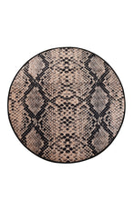 "Load image into Gallery viewer, RugstoreX Snake Round Bath Rug Area Rug Round Rug 40"" 100 cm - Cross Border Exporter"