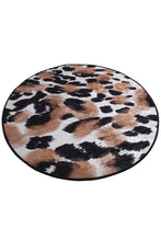 "Load image into Gallery viewer, Antdecor  Leopard Round Bath Rug Area Rug Round Rug 40"" 100 cm - Cross Border Exporter"