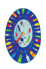 "Load image into Gallery viewer, RugstoreX Palette Rugs for kids Highway  3'x 5' 39""x 62"" 100x160 cm - Cross Border Exporter"
