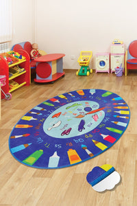 "RugstoreX Palette Rugs for kids Highway  3'x 5' 39""x 62"" 100x160 cm - Cross Border Exporter"