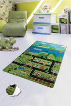 "Load image into Gallery viewer, Antdecor Happy City Rugs for kids Highway  3'x 5' 39""x 62"" 100x160 cm - Cross Border Exporter"