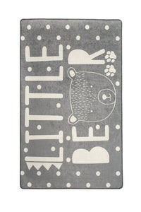 "Antdecor Litte Bear Gri Rugs for kids Highway  3'x 5' 39""x 62"" 100x160 cm - Cross Border Exporter"