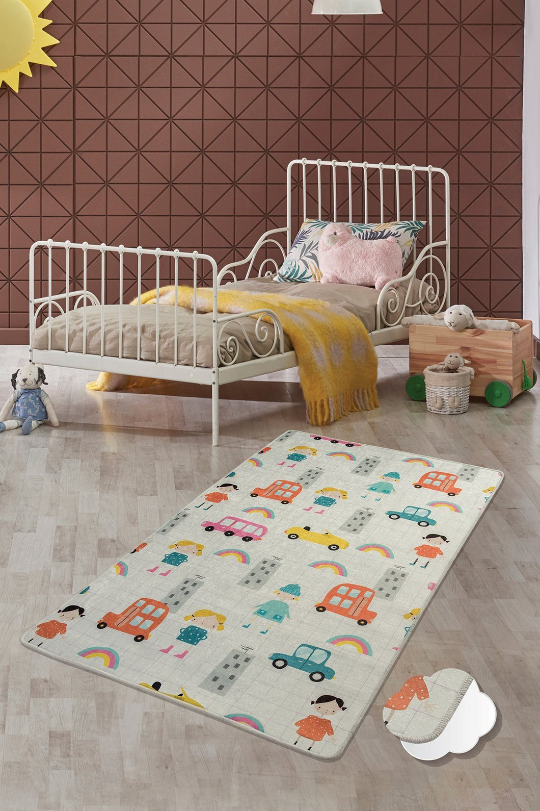 RugstoreX Town Rugs for kids Highway  3'x 5' 39