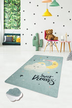 "Load image into Gallery viewer, RugstoreX Sweet Dreams Rugs for kids Highway  3'x 5' 39""x 62"" 100x160 cm - Cross Border Exporter"