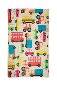 "RugstoreX Cars Rugs for kids Highway  3'x 5' 39""x 62"" 100x160 cm - Cross Border Exporter"