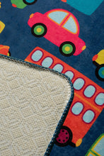 "Load image into Gallery viewer, RugstoreX Cars Rugs for kids Highway  3'x 5' 39""x 62"" 100x160 cm - Cross Border Exporter"