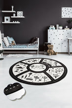 "Load image into Gallery viewer, RugstoreX Black City for kids Highway  3'x 5' 39""x 62"" 100x160 cm - Cross Border Exporter"