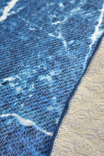 "Load image into Gallery viewer, Antdecor Denim Round Bath Rug 40"" 100 cm - Cross Border Exporter"