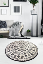 "Load image into Gallery viewer, RugstoreX Venice Round Bath Rug Area Rug Round Rug 40"" 100 cm - 55"" 140 cm - Cross Border Exporter"
