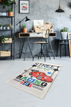 Load image into Gallery viewer, Antdecor Street Racing and The Car Design Modern Decorative Area Rug