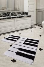 Load image into Gallery viewer, Antdecor Piano Design Black&White Modern Decorative Area Rug