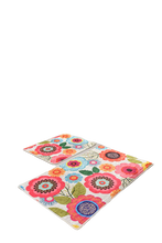 Load image into Gallery viewer, Antdecor Floral Design Multicolor Flowers Bathroom Rug