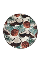 "Load image into Gallery viewer, Antdecor Coconut Djt Round Bath Rug Area Rug Round Rug 40"" 100 cm - 55"" 140 cm - Cross Border Exporter"