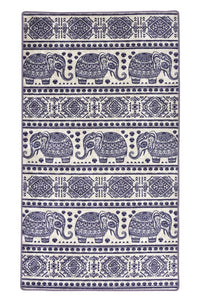 Antdecor Ethnic Elephant Pattern  Modern Decorative Area Rug 31'' 59'' 80x150cm