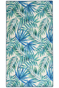 Antdecor Tropical Blue Tropic Rug Modern Decorative Area Rug 31'' 59'' 80x150cm