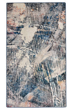 Load image into Gallery viewer, Antdecor Blue&White Abstract Decorative Area Rug 31'' 59'' 80x150cm area rug