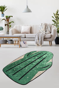 Antdecor BIG CACTUS Design Decorative Modern Area Rug