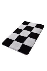 Antdecor Checkers Design Modern Decorative Area Rug 23'' 39'' 60x100cm