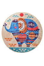 "Load image into Gallery viewer, Antdecor Etnic Djt Round Bath Rug Area Rug Round Rug 40"" 100 cm - 55"" 140 cm - Cross Border Exporter"
