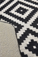 Load image into Gallery viewer, Antdecor Black&White Zig Zag Modern Decorative Area Rug