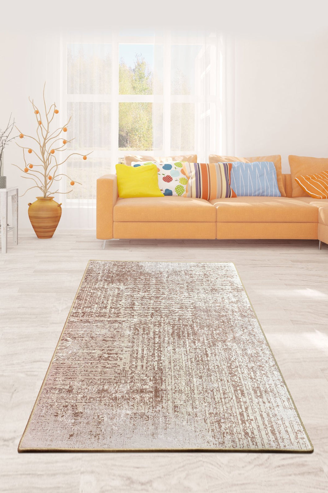 Estate Decorative Carpet 140X190 Cm