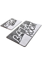 Load image into Gallery viewer, Antdecor Bathroom Grey Set Of 2 Bath Rug 60X100 Cm - 50X60 Cm