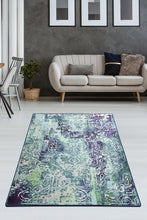 Load image into Gallery viewer, Antdecor Harmony Blue Decorative Carpet 140X190 Cm