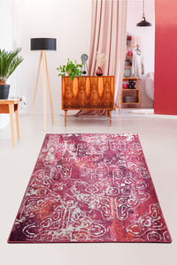 Antdecor Harmony Pink Decorative Carpet 160X230 Cm