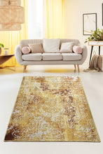 Load image into Gallery viewer, Antdecor Harmony Mustard Decorative Carpet 160X230 Cm