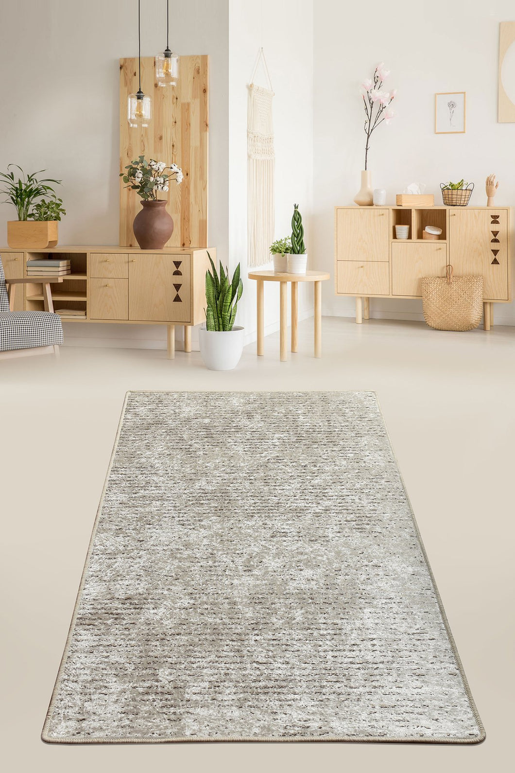 Antdecor Suolo Beige Decorative Carpet 140X190 Cm