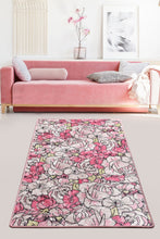 Load image into Gallery viewer, Antdecor Rosa Pink Decorative Carpet 80X200 Cm